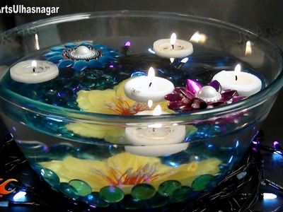 DIY Easy Candles Centerpiece Table Decoration Idea | JK Arts 698