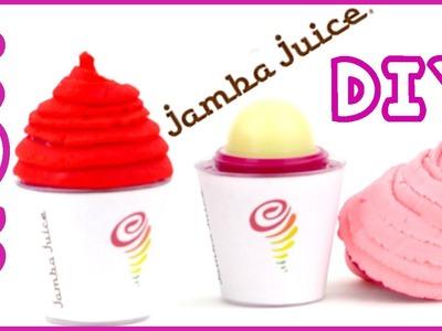 DIY EOS Jamba Juice  -  EOS Lip Balm Container Craft Idea