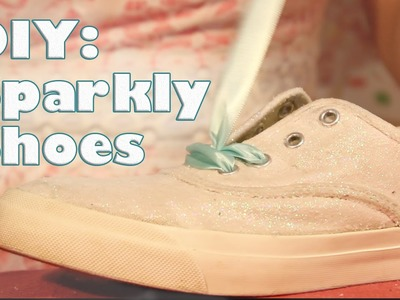 DIY: How to Make Old Shoes Sparkle!. Forts n Crafts