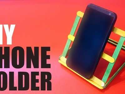 DIY Phone holder for desk