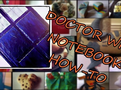 Doctor Who Notebook How-To {back to school}