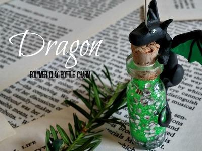 Dragon Bottle Charm (Polymer Clay) Tutorial