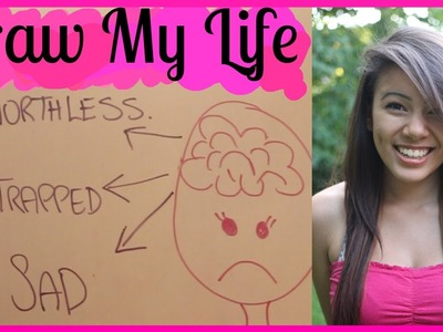 DRAW MY LIFE - Bullies, Death, Quotes + More
