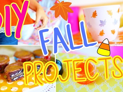 Easy Fall DIY Projects You NEED To Try!! 2015