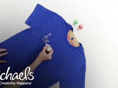 Fabric Paint | Application Basics | Michaels