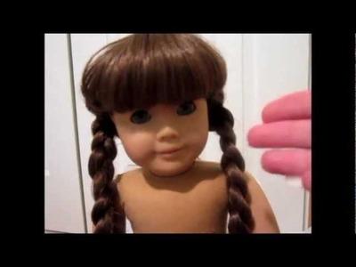 Fix American Girl Dolls Frizzy Hair Downy Spritz Tutorial