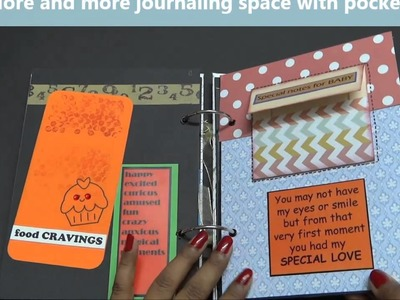 Growing Craft - Pregnancy record book.Journal