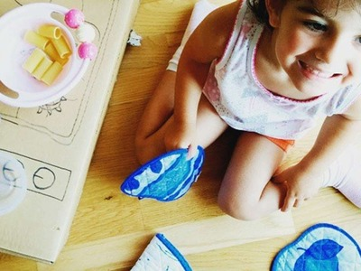 How To Make A Cardboard Kitchen For Your Kids - DIY Crafts Tutorial - Guidecentral