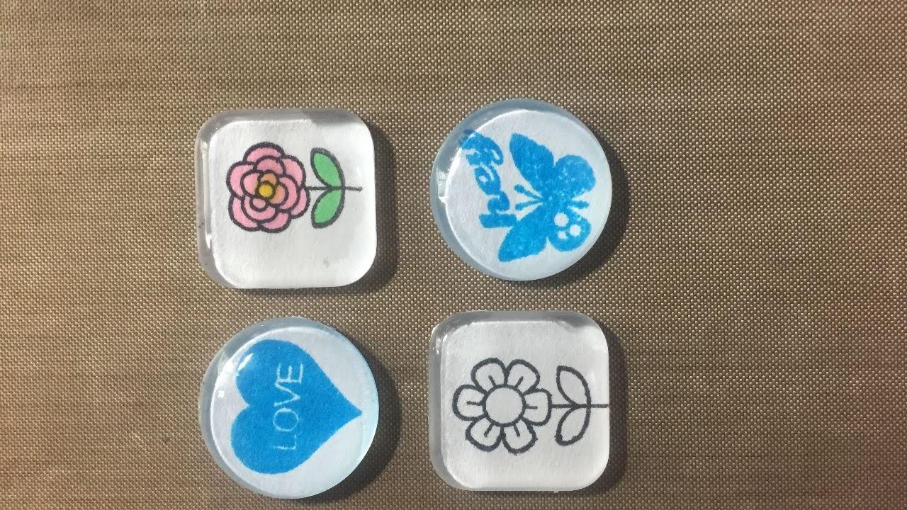 How To Make DIY Custom Magnets - DIY Crafts Tutorial ...