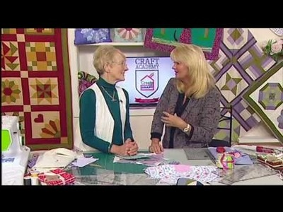 How to quilt for beginners part 2| Craft Academy