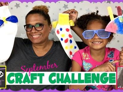 #MBMCRAFTCHALLENGE September Craft Challenge ~ How to Make a Fan and Mismatched Socks!