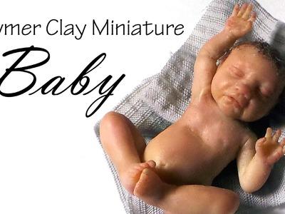 Miniature Baby Tutorial Pt. 2 - Polymer Clay Tutorial