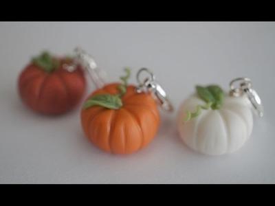 Miniature Pumpkin Tutorial, Polymer Clay Pumpkin Tutorial