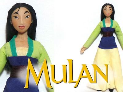 Mulan Inspired (Poseable) Doll - Polymer Clay Tutorial