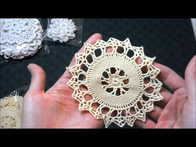 New doilies! And news about thepaperbaglady etsy store