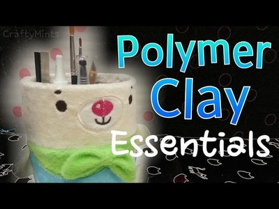 Polymer Clay for beginners! {Polymer Clay||CraftyMints}