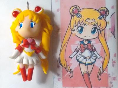 Polymer Clay Sailor Moon Tutorial Series Part 1 -  Sailor Moon Chibi