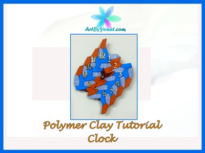 Polymer Clay Tutorial - Clock - Lesson #35