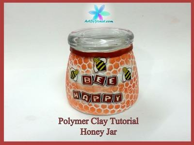 Polymer Clay Tutorial - Honey Jar - Lesson #38