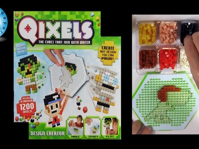 Qixels Design Creator Mega Bead Pack Review - Dinosaur Craft Project - Family Toy Report