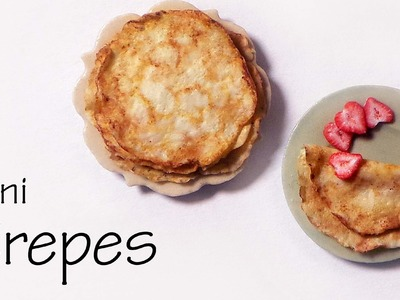 Quick.Easy Miniature Crepes - Polymer Clay Tutorial