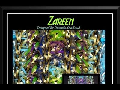 Rainbow Loom Band Zareen Bracelet Tutorial.How To