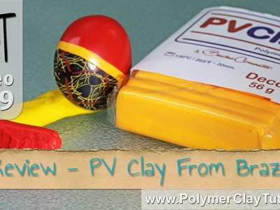 Review - PV Clay Polymer Clay from Brazil