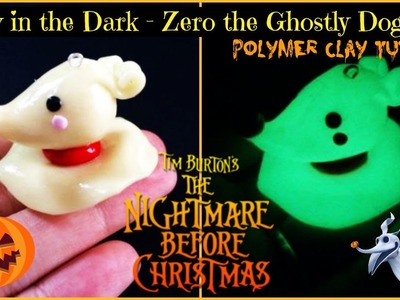 TNBC: Glow in the Dark - Zero Polymer Clay Tutorial (Collab - NerdeCrafter)