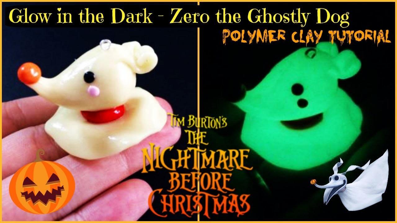 TNBC: Glow in the Dark - Zero Polymer Clay Tutorial (Collab - NerdeCrafter)