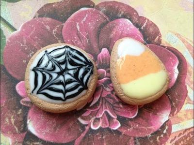 2 in 1 Halloween Cookie Tutorial!