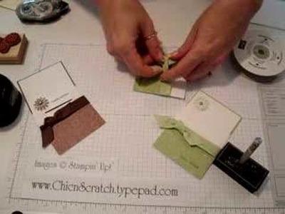3 x 3 Envelope Card