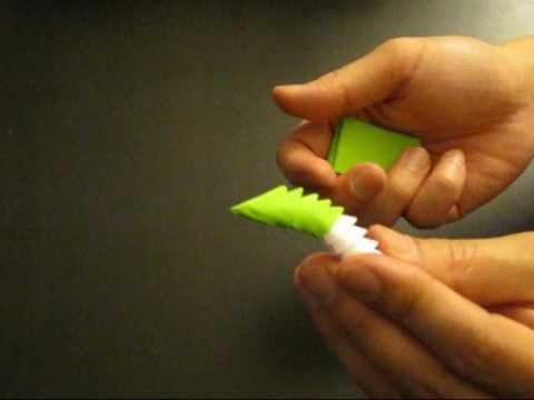 3D Origami for Beginners - Standard Flat Point Fold and Advanced Puff Fold a.k.a Jaxster Fold