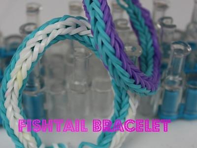 4 SIDED FISHTAIL LOOM BRACELET *Loom Bracelet Tutorial* For Beginners|B2cutecupcakes