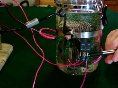 A clip from my hydrogen. oxygen generator how to build  DVD