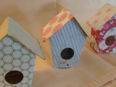 Art Attack Supplies DTP- Tilda Bird House and tutorial