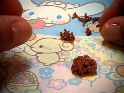 Bear (Rilakkuma) Onigiri Clay Tutorial