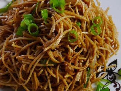 Chow Mein Recipe