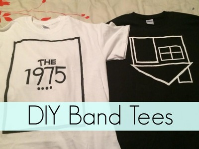 DIY Band Tees: The 1975 & The NBHD