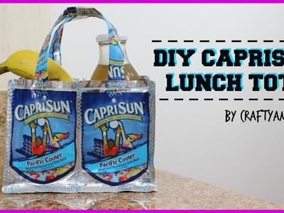 DIY Caprisun Lunch Tote