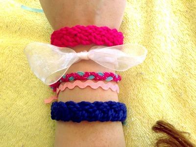 DIY Cute Bracelets for Summer!