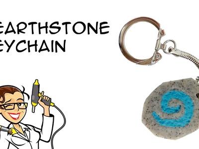 DIY Hearthstone Keychain: Polymer Clay Crafty McFangirl Tutorial