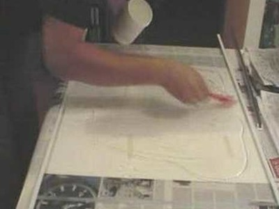 DIY Multitouch display: silicone rubber layer how-to video
