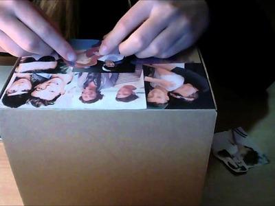 DIY One Direction box