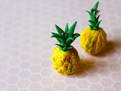 DIY: Pineapple Polymer Clay Tutorial