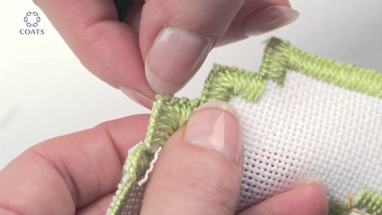Embroidery Hardanger .Learn How To Cut a Buttonhole Edge on Evenweave