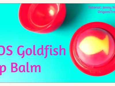 EOS DIY Lip Balm - Cute Goldfish - NO Beeswax, Crayon or Candy!
