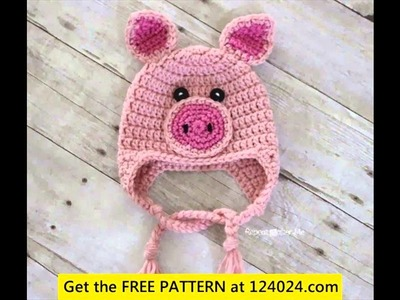 Free crochet pattern baby hat ears