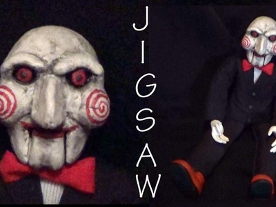 Halloween; Jigsaw. Billy - Polymer Clay Tutorial