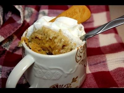 How to Make a Biscoff Mug Cake with CookingAndCrafting