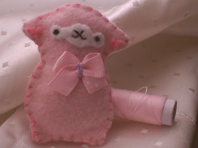 How to make a cute alpaca plushie.